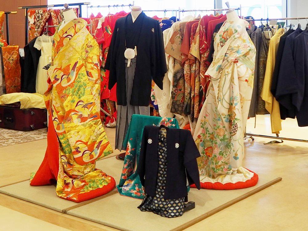 函館機場的「和服体験」