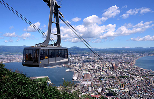 Three Minutes to the Top by Cable car