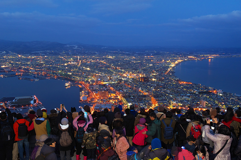 Hakodate is one of the most attractive cities in Japan