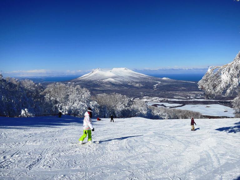 Snow activities in Hakodate city/suburb area