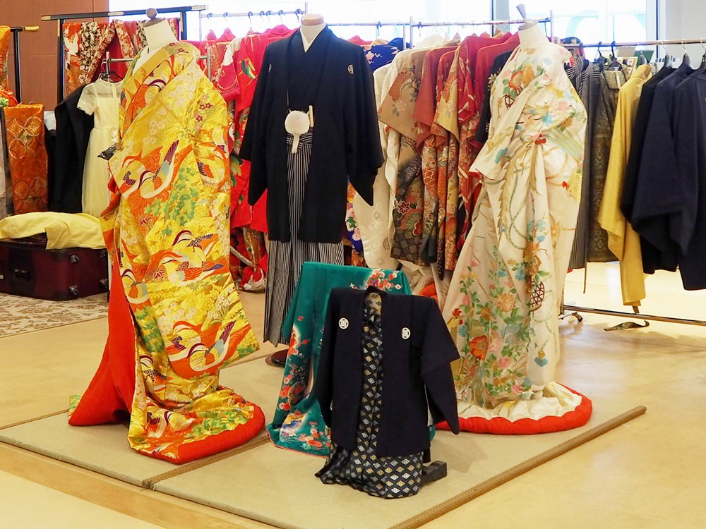 Experience Japanese clothing at Hakodate Airport