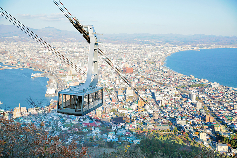 How to get to Mt. Hakodate, the night view spot