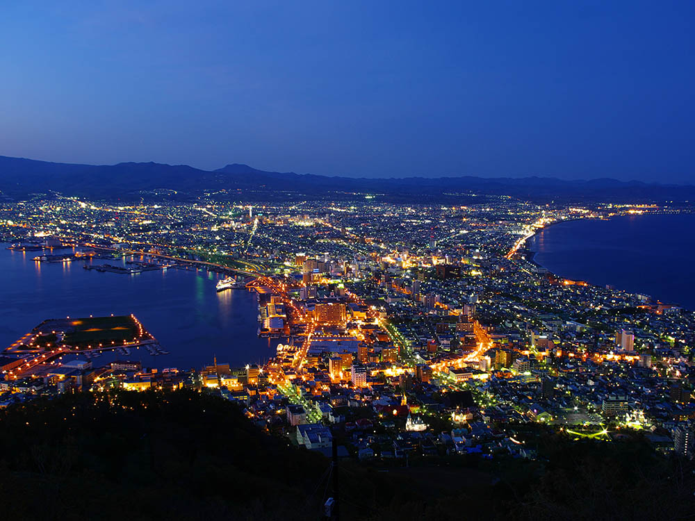 Many sightseeing spots in Hakodate are listed in Michelin travel guides